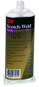 Colles structurales bi-composants 3M Scotch Weld EPX, DP105