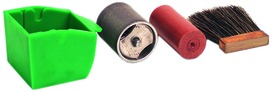 Ricambi per apparecchi per nastri d'impiallacciatura