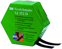Wiederlösbares Haken-/ Schlaufenband 3M Scotchmate SJ-352D