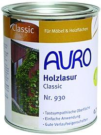 Vernice trasparente a base di oli naturali AURO 930