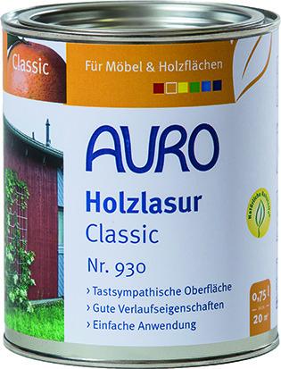 Lasure pour bois Classic AURO 930