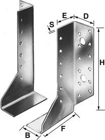 Sabots de solive SIMPSON SST, 2 pièces