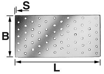 Tôle perforée SIMPSON SST