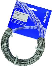 Corde metalliche in acciaio inox