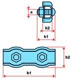 Morsetti Duplex per corde metalliche