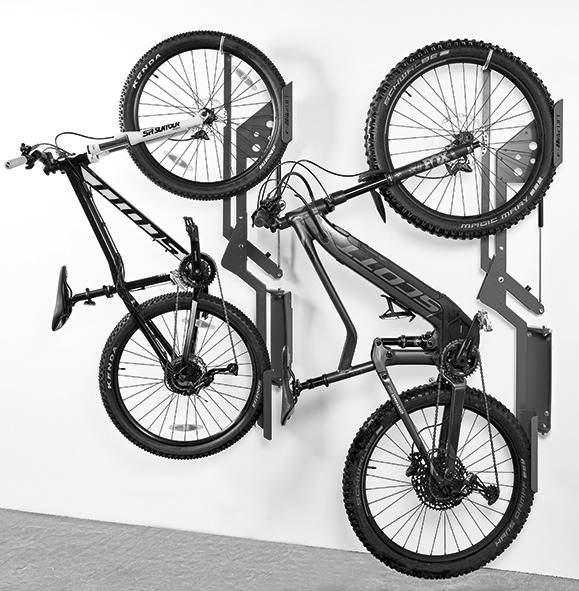 Dispositif de suspension pour bicyclettes E-BIKE LIFT