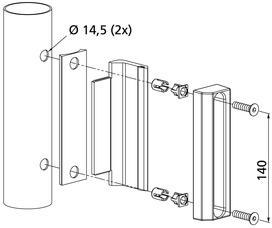Kit di controcartelle a scatola piatte