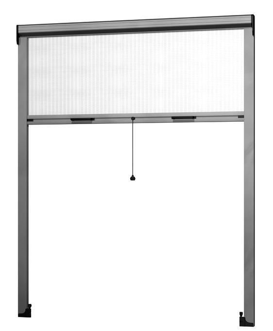 Moustiquaire à enrouleur vertical ROLLFIX 4151 FR