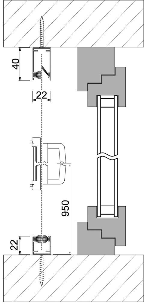 Moustiquaire à enrouleur latéral Uno ROLLFIX 4151 TR