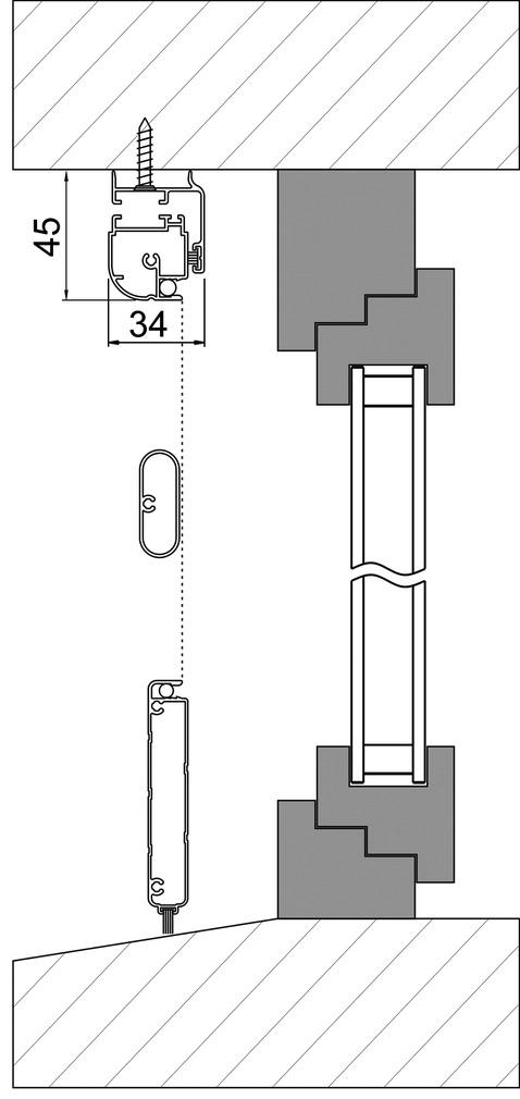 Moustiquaires porte battante Max ROLLFIX 2830 DT