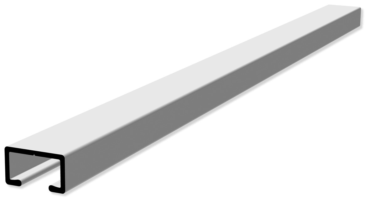 Binari Per Tende A Soffitto : Gardinenstange Ø mm gebürstetes aluminium die halterungen kônnen