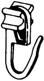 Carrucole per tende con pieghe B16 Maxi