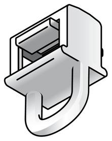 Glissoirs à oeillet lateral HC2 Maxi Clic