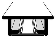 Rails à rideaux VS 57 avec rainure glissante
