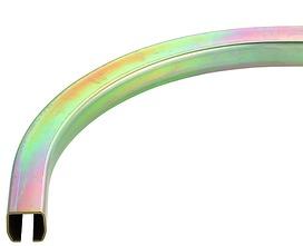 Normkreisbogen 90° zu HELM-Vorhangsystem