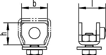 Schienenstopper zu HELM-Vorhangsystem