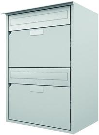 Boîtes à lettres HUBER modèle 400 - 2 une sur l'autre