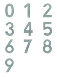 Hausnummern INTERSTEEL