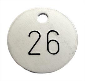 Etiquettes numérotées avec chiffres