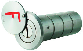 Depositi per chiavi MSL SAFOS con F rosso