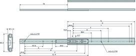 Kugel-Teilauszüge ACCURIDE DZ0204