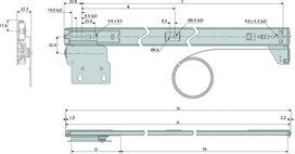 Drehschiebetürbeschläge ACCURIDE Inslide/Forslide 1432