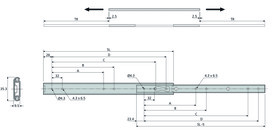 Dual-Kugel-Teilauszüge ACCURIDE DZ2026