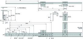 Kugel-Teilauszüge ACCURIDE DZ2109