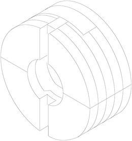 Attacco frontale regolabile BLUM 295.1000