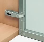 Cerniere a scodellino BLUM CLIP top, cerniere stretti per alluminio 95 °