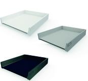 Tiroir / tiroir intérieur complet BLUM TANDEMBOX antaro, blanc soie, gris poussière, noir terra