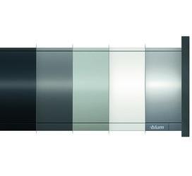 Flexible Frontschubkasten-Sets BLUM LEGRABOX pure F, Edelstahl