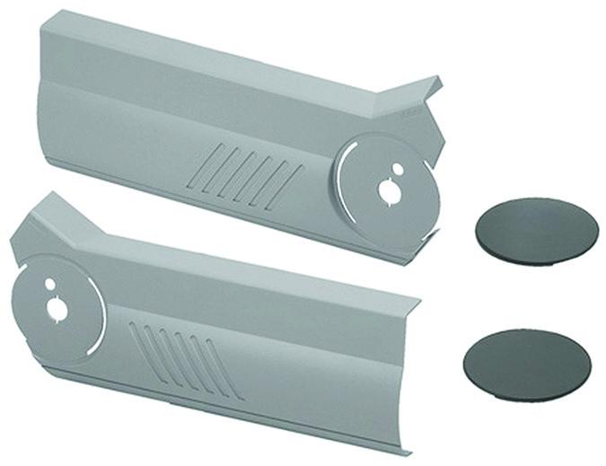 Set caches BLUM pour abattant à armature élévatrice pliant AVENTOS HF