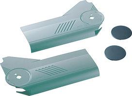 Set de caches BLUM abattant à armature élévatrice à la verticale pour AVENTOS HL