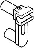 ORGA-LINE supporto ringhierina trasversale per due sospensione