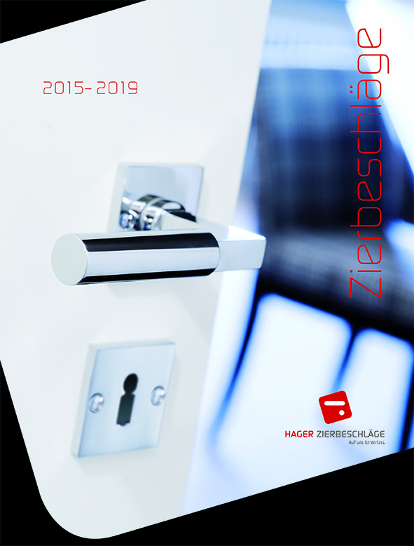 Catalogue HAGER Ferrements décoration 2015-2019