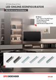Broschüre LED Online-Konfigurator