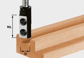 Placchette reversibili per fresa per scanalature HW S8 D8/20 WP Z1 FESTOOL 491078