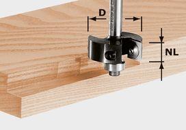 Placchette reversibili per fresa per scanalature HW S8 D38/12 FESTOOL 491085