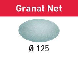 Abrasivo a rete STF D125 P80 GR NET/50 Granat Net confezione da 50 pezzi FESTOOL 203294