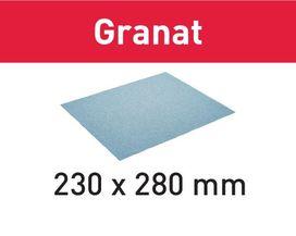 Abrasivo 230x280 P400 GR/10 Granat confezione da 10 pezzi FESTOOL 201266