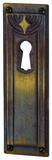 Bocchetta per mobili HAGER Jugendstil