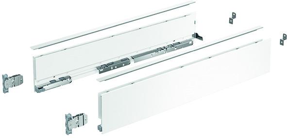Kit di spondine HETTICH AvanTech YOU altezza 101 mm, bianco