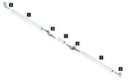 Adattatore applicabile sui 2 lati tipo A/B per push-to-open multi sincronizzazione