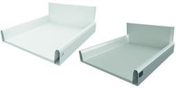 Tiroir à casseroles / tiroir intérieur à casseroles complet HETTICH ArciTech, blanc/argent