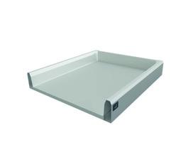 Tiroir / tiroir intérieur complet HETTICH ArciTech, blanc, argent, anthracite
