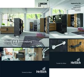 Catalogue HETTICH Techniques et Applications/ProDecor 2020