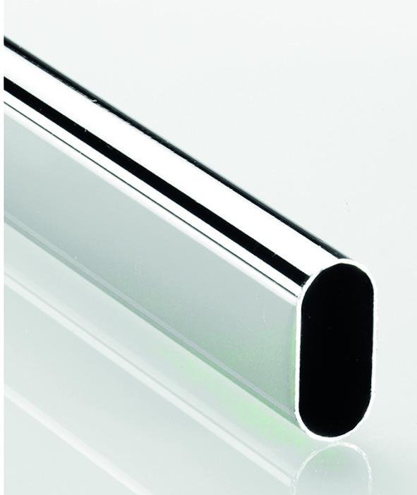 Tubo per armadio ovale