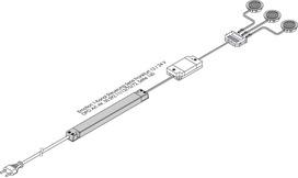 Kit di espansione per radioregolatore L&S Frankfurt 12 / 24 V