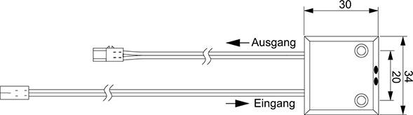 Interruttore a sensore IR L&S 12 / 24 V